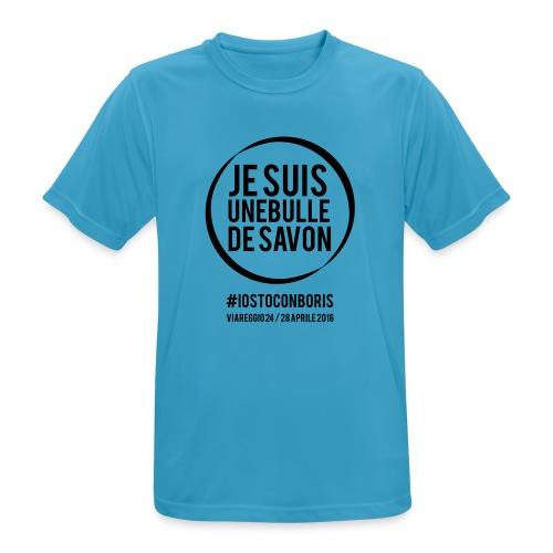 #iostoconboris - Maglietta da uomo traspirante