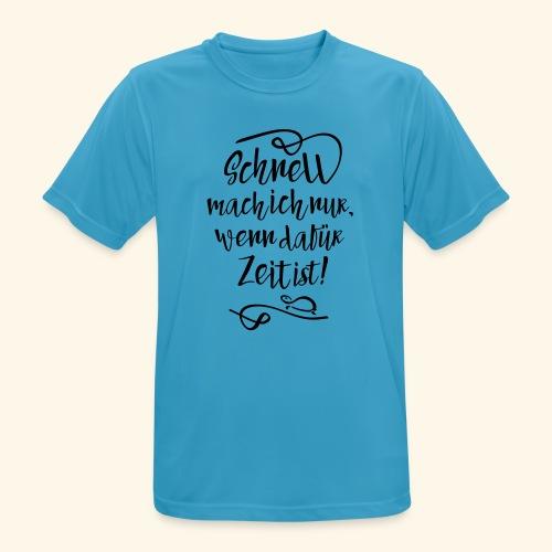 Schildi Spruch - Männer T-Shirt atmungsaktiv