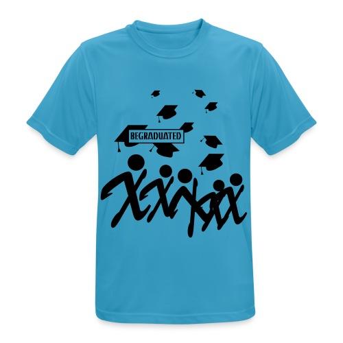 BEGRADUATED - Mannen T-shirt ademend