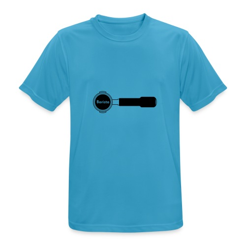 Siebträger Barista horiz - Männer T-Shirt atmungsaktiv
