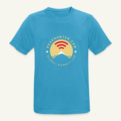Peakhunter Global Summit Log - Männer T-Shirt atmungsaktiv