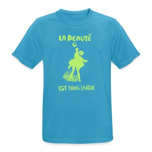 la_beaut├®_est_dans_la_ru - Andningsaktiv T-shirt herr