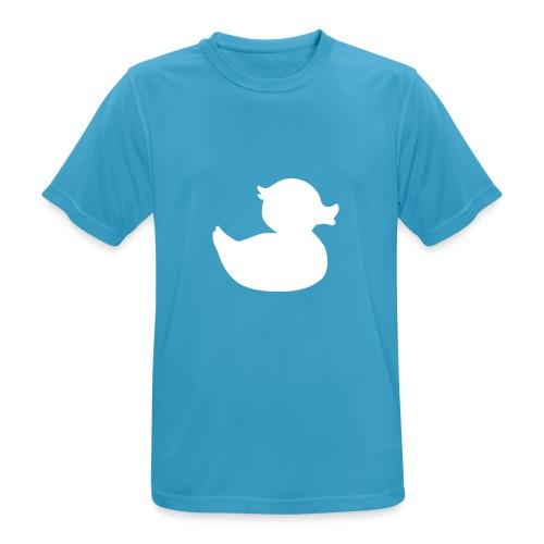 Quacky McVuxen - Männer T-Shirt atmungsaktiv