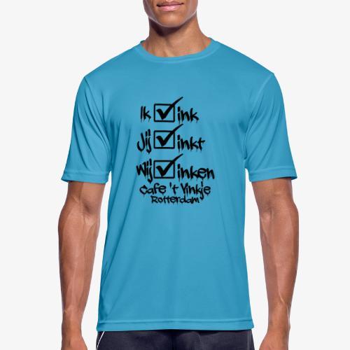 ik vink - Mannen T-shirt ademend actief
