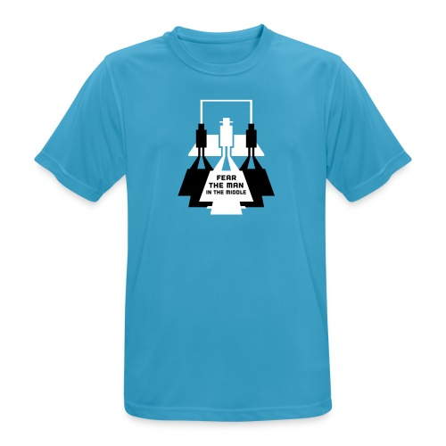 The Man in the Middle - Men's Breathable T-Shirt