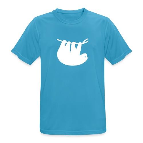 Lazy Slothbert - Männer T-Shirt atmungsaktiv