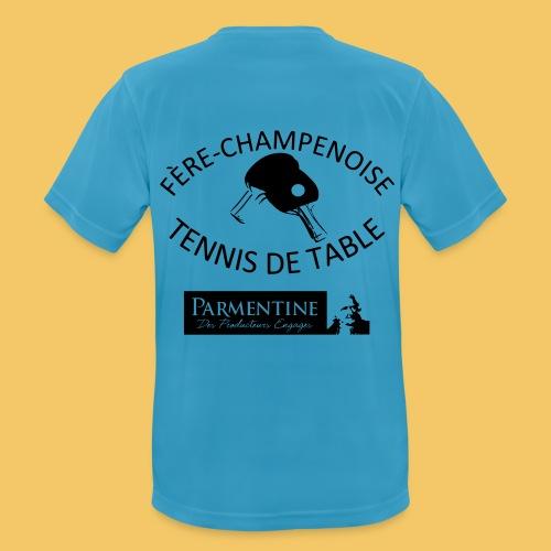 logoetpetisponsor - T-shirt respirant Homme