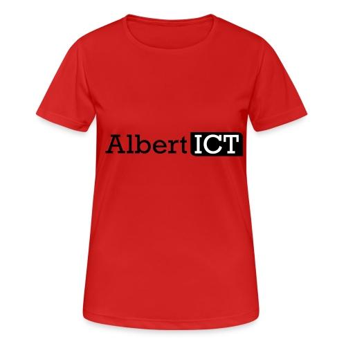 Logo_AlbertICT - vrouwen T-shirt ademend