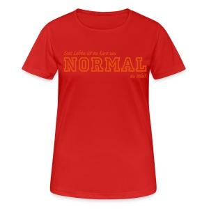 NORMAL - Frauen T-Shirt atmungsaktiv