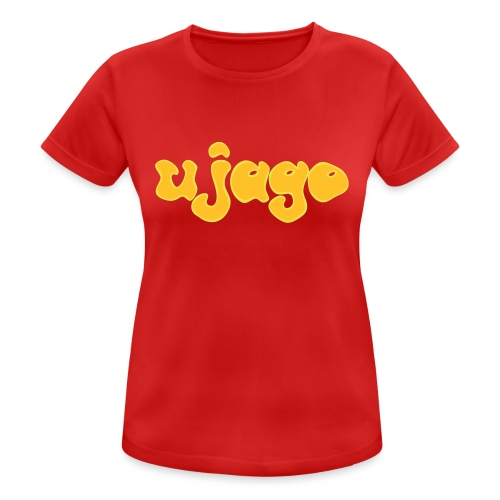 ujago gelb - Frauen T-Shirt atmungsaktiv