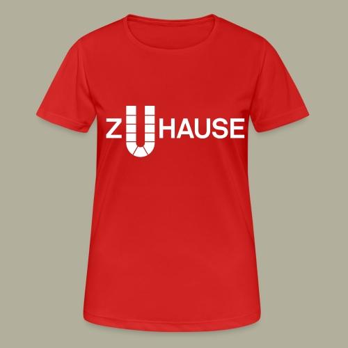 Zuhause in Dortmund - Frauen T-Shirt atmungsaktiv