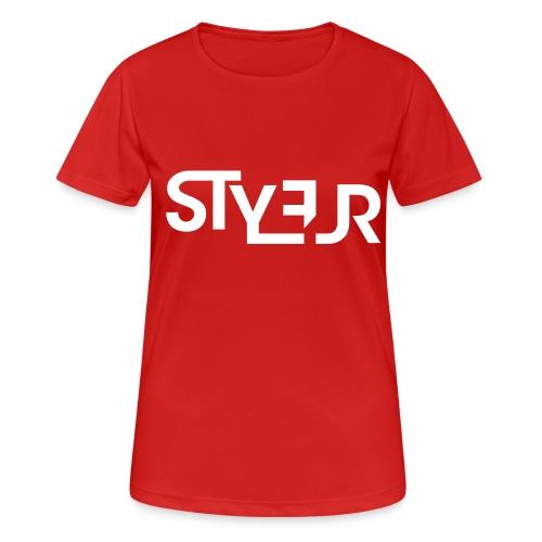 styleur logo spreadhsirt - Frauen T-Shirt atmungsaktiv