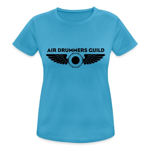 ADG Drum'n'Wings Emblem - Women's Breathable T-Shirt