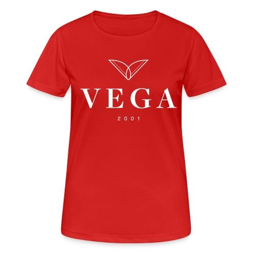 VEGA logo - Dame T-shirt svedtransporterende