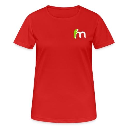 Logo ffm ohne Kreis - Frauen T-Shirt atmungsaktiv