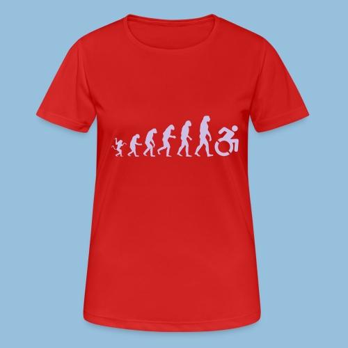 EvolutionWheelchair - vrouwen T-shirt ademend