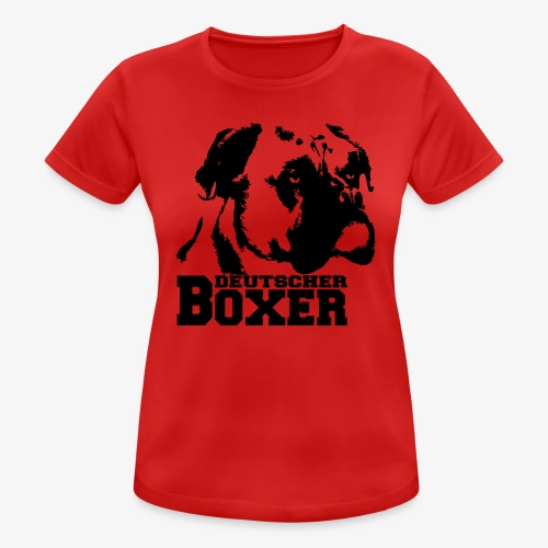 Deutscher Boxer - Frauen T-Shirt atmungsaktiv