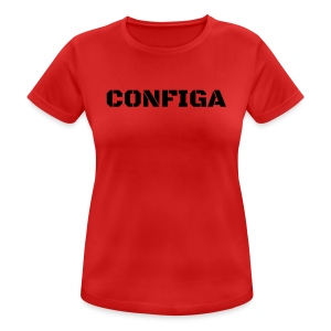 Configa Logo - Women's Breathable T-Shirt