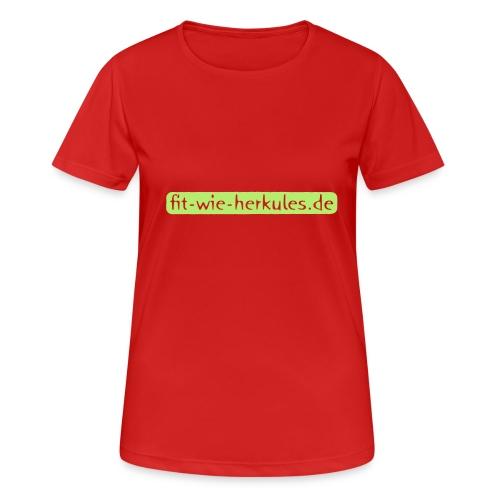 Fit-wie-herkules.de - Frauen T-Shirt atmungsaktiv