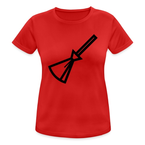 Balais Balais Wiccan Wicca ! - T-shirt respirant Femme