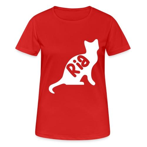 Team Ria Cat - Women's Breathable T-Shirt