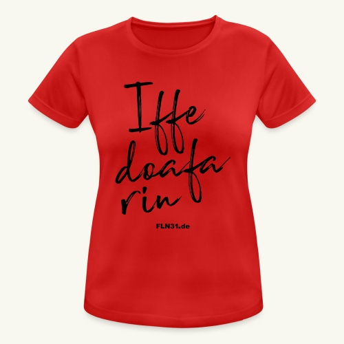 Iffedoafarin - Frauen T-Shirt atmungsaktiv