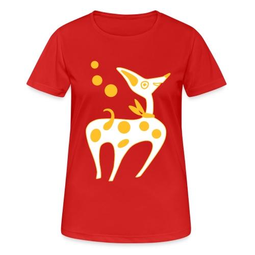 Cane Cucciolo divertente - Maglietta da donna traspirante