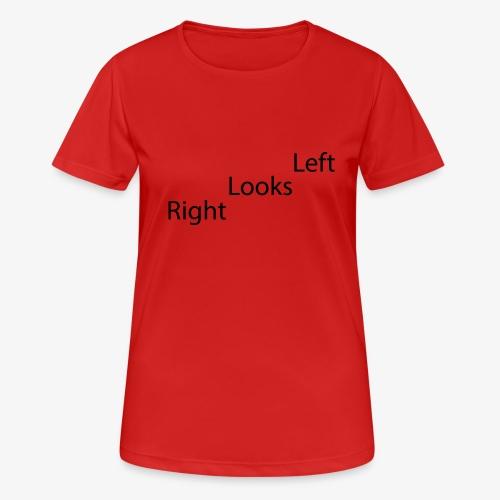 Left - Pustende T-skjorte for kvinner
