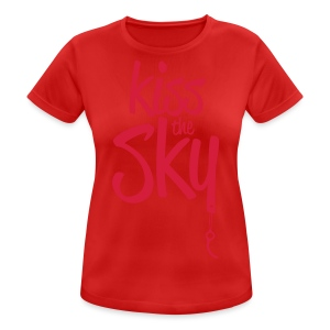kiss the sky *2018* - Frauen T-Shirt atmungsaktiv
