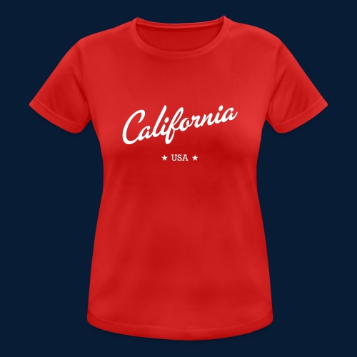 California - Frauen T-Shirt atmungsaktiv