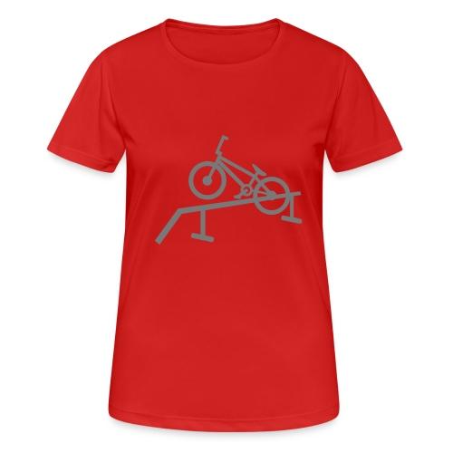 BMX - Frauen T-Shirt atmungsaktiv