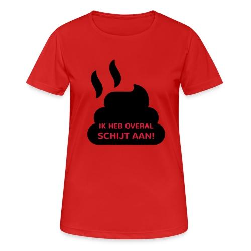 Grappige Rompertjes: Ik heb overal schijt aan - vrouwen T-shirt ademend