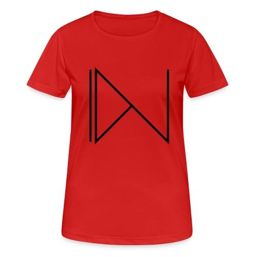 Icon on sleeve - Vrouwen T-shirt ademend actief