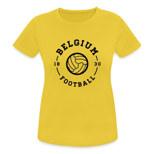 Belgium football - Belgique - Belgie - T-shirt respirant Femme