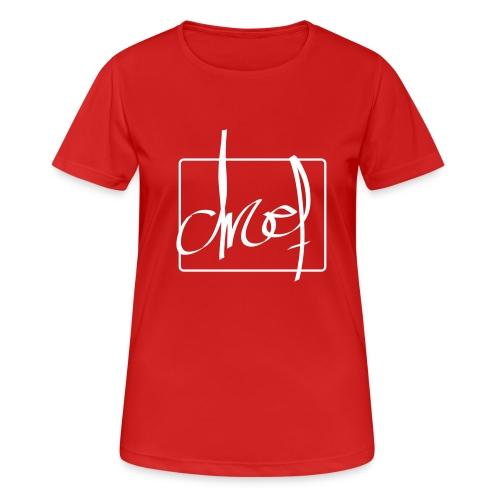 Droef.Gent wit - Vrouwen T-shirt ademend actief