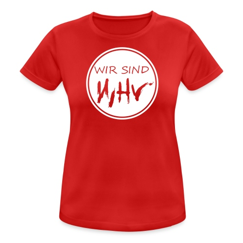 Wir Sind WHV Grafik Service1 - Frauen T-Shirt atmungsaktiv