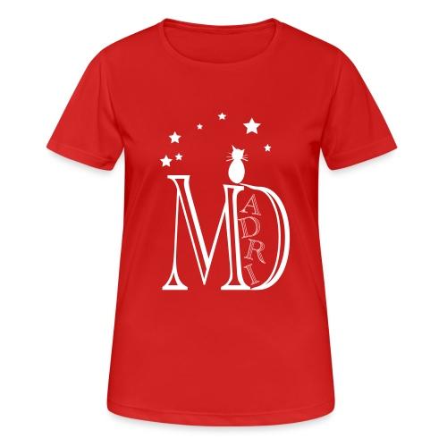 MadriG - Camiseta mujer transpirable