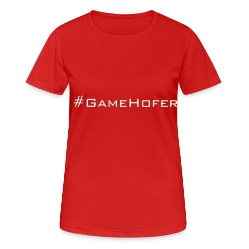 GameHofer T-Shirt - Women's Breathable T-Shirt