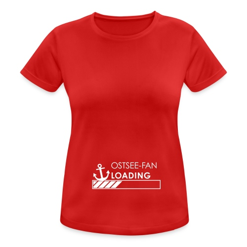 Ostseefan loading - Frauen T-Shirt atmungsaktiv