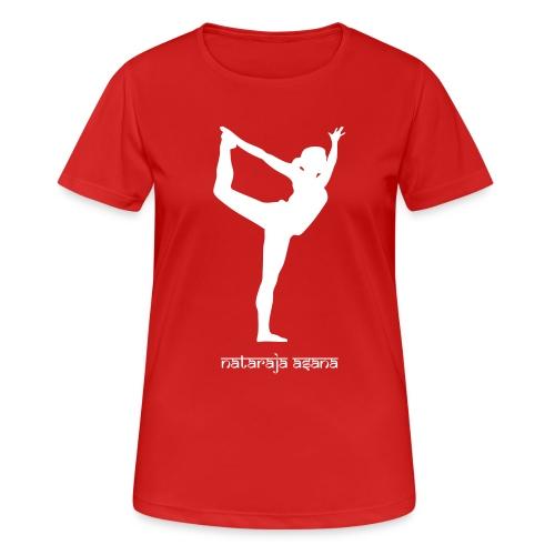 Yoga Nataraja Asana - Frauen T-Shirt atmungsaktiv