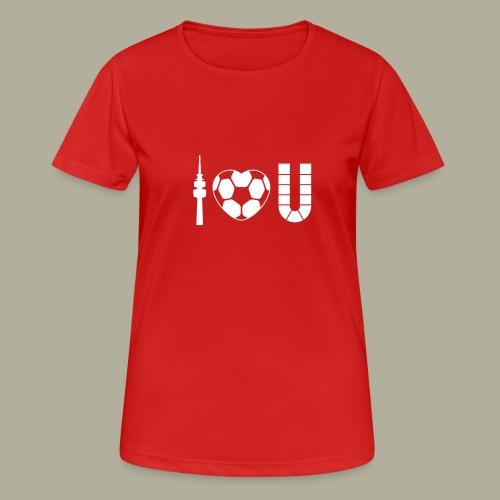 Dortmund I Love U - Frauen T-Shirt atmungsaktiv