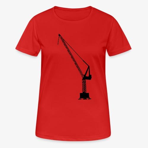 kraan - Vrouwen T-shirt ademend actief