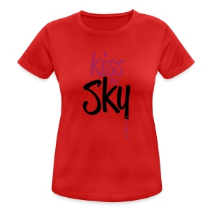 Kiss the Sky - Frauen T-Shirt atmungsaktiv