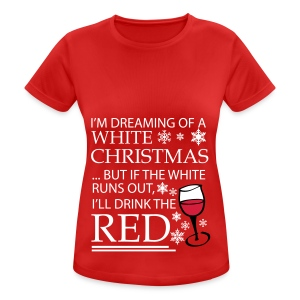 White Christmas - Women's Breathable T-Shirt