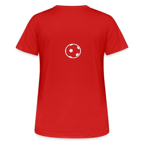 Unterwasser-Rugby Ball - Frauen T-Shirt atmungsaktiv