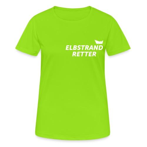 elbstrad_retter - Frauen T-Shirt atmungsaktiv