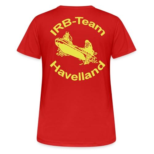 irbteamlogo - Frauen T-Shirt atmungsaktiv