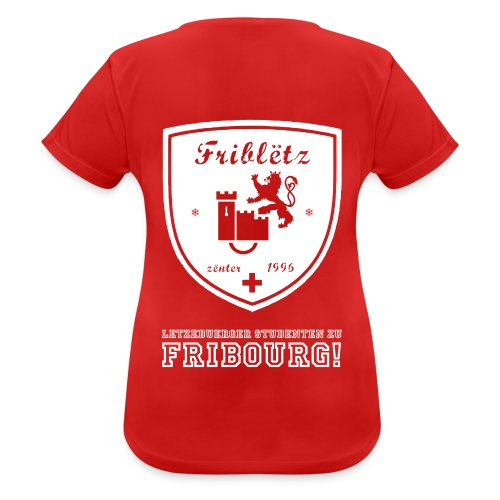 Fribletz Logo Letz Stud z Frib - Frauen T-Shirt atmungsaktiv