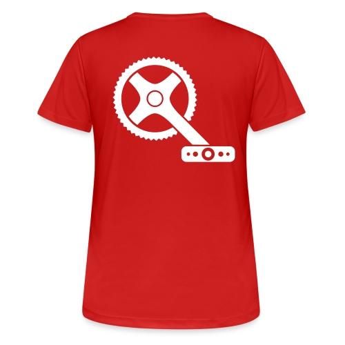 bicycle-162112 - Frauen T-Shirt atmungsaktiv