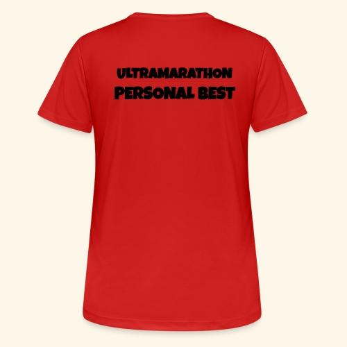 ULTRAMARATHON - motivo - Maglietta da donna traspirante